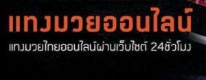 แทงมวยไทย